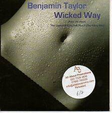 (AA724) Benjamin Taylor, Wicked Way - DJ CD