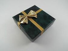 5 Cardboard Pendent Necklace Gift Boxes Jewelry Earring Display Christmas Bow