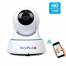 Indoor 720P HD Wi-Fi IP Camera for Baby Monitor with Two-way Audio/Night Vision