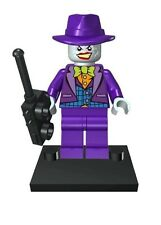 Joker Purple Hat 1 Mini Figure UK Seller Fits Lego Batman  Superman