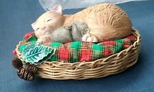 VINTAGE CHRISTMAS AROUND THE WORLD NOT A CREATURE WAS STIRRING CAT & MOUSE SLEEP