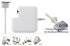 60W T-style Connector Power Adapter Charger for MacBook Pro (Retina, 13-inch)