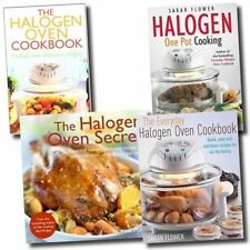 Halogen Oven Collection 4 Books Set The Halogen Oven Secret,Halogen One Pot