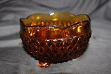 Vintage Brown Amber Glassware Glass Candy Dish Beautiful Dish unknown maker