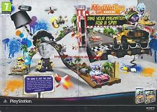 aystation Modnation Racers 2010 Magazine 2 Page Advert #4669