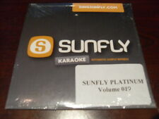 SUNFLY PLATINUM KARAOKE  DISC SFPL019 VOLUME 19 CD+G SEALED 15 TRACKS