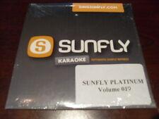 SUNFLY PLATINUM KARAOKE  DISC SFPL019 VOLUME 19 CD+G SEALED 15 TRACKS