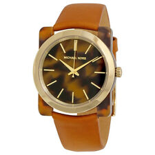 Michael Kors Kempton Tortoise-shell Acetate Dial Ladies Watch MK2484