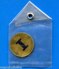 """KICA - Sorprese Decalcomania Figurina-Sticker anni 60 - LETTERA """"I"""" TONDA"""