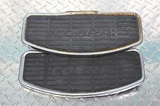 96 Honda Shadow Ace 1100 VT 1100 C2 Front Floorboard Foot Rest Set Pair COBRA