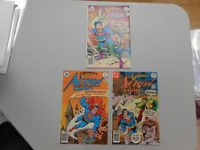 Action Comics lot of 3! #'s 466, 467 and 468! VF8.0 to NM range! BRONZE AGE DC!