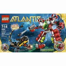 Lego Atlantis Undersea Explorer Retired Set 8080 New In Box Transorming Set