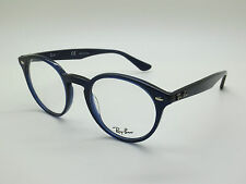 NEW Authentic Ray Ban RB 2180-V 2013 Blue 47mm RX Eyeglasses