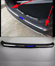 Rear Bumper Protector Sill Plate for 2016 Mitsubishi Outlander door ABS blue