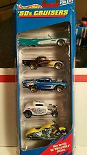 1999 Hot Wheels 5 pack Gift pack 50's CRUISERS FREE SHIPPING