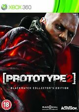 Prototype 2  Blackwatch Collector's Edition   XBOX 360 NUOVO!!!!
