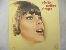 MIREILLE MATHIEU LP OLYMPIA g/f textured / one box Columbia scx 6391 near mint