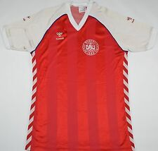 1982-1984 DENMARK HUMMEL HOME FOOTBALL SHIRT (SIZE L)
