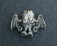 Cthulhu Belt Buckle - Lovecraft Necronomicon