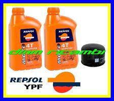 Kit Tagliando PIAGGIO BEVERLY 500 12 13 + Filtro Olio REPSOL 5W/40 2012 2013