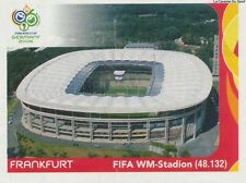 N°012 STADIUM FIFA WM-STADION # FRANKFURT STICKER PANINI WORLD CUP GERMANY 2006
