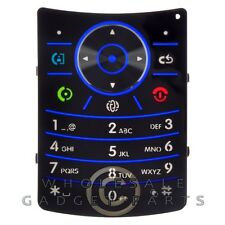 Keypad Main for Motorola V9 RAZR2 Blue Key Pad Keyboard Buttons Type Press
