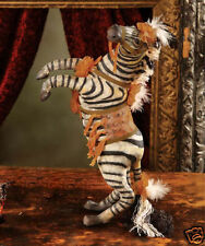 NIB Bethany Lowe Zebra Animal Halloween Carnival Circus Figurine Home Decor