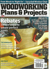 WOODWORKING PLANS & PROJECTS THE UK'S ESSENTIAL WORKSHOP PROJECT & TECHNICAL MAN