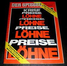 Der Spiegel 48/71 Titelbild: Krise - Preise-Löhne; Zukunft VW, Baader-Meinhof-Gr