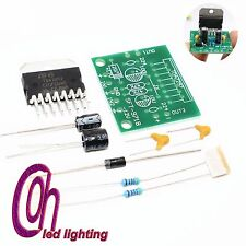 1set TDA7297 amplifier board spare parts dc 12v grade 2.0 dual audio 15w diy kit
