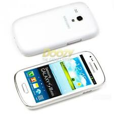 Für Samsung Galaxy S3 Mini i8190 Cover Ultra Slim Case Schutz Hülle weiß