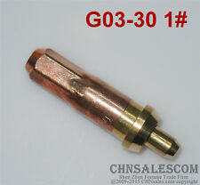 G03-30 1# Oxygen Propane Cutting Welding Torch Tip