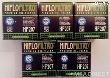 LML 200 Star (4T) (2011 to 2015) HifloFiltro Oil Filter (HF207) x 5 pack