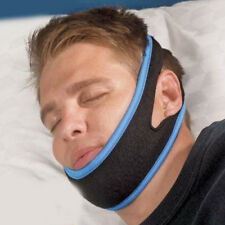 New Unisex Snore Stop Belt Anti Snoring Cpap Chin Strap Sleep Apnea Jaw Solution