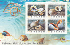 "SINGAPORE, 1997, ""SHELL OF SINGAPORE"" S/S. MINT NH.  IN GOOD CONDITION"