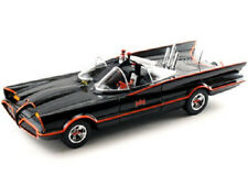 1966 TV SERIES BATMOBILE DIECAST MODEL MIB 1:18 Mattel 2090