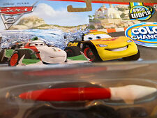 Disney Pixar Cars 2 Color/Cambiador De Color Mcqueen & Francesco Bernoulli Italia!