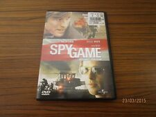 "Kauf DVD "" Spy Game "", D/E - mit Robert Redford + Brad Pitt - TOP Zstd. /S12"