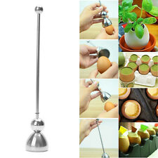 Kitchen Cutter Topper Shell Opener Cooked Egg-Beater Stainless Steel Open Tools