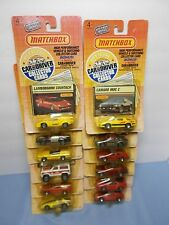 Matchbox Car and Driver 1989 Complete set of 12 Cars Collector Cards USA EDITION