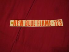 1955 CHEVROLET NEW BLUE FLAME 123 ENGINE VALVE COVER DECAL STICKER NEW