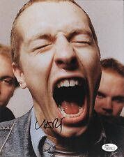 """Chris Martin singer of Coldplay REAL hand SIGNED 8x10"""" Photo w/ JSA COA #2"""