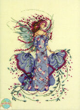 Cross Stitch Chart / Pattern ~ Mirabilia October Opal Fairy #MD132