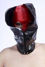 660 Latex Rubber Gummi Double Layers Masks Hoods customized catsuit cool 0.4mm