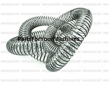 5 FT OF CLEAR HOSE, WIRE REINCORCED, 1.50, FLEXIBLE, VACUUMS, FLOOR SCRUBBERS