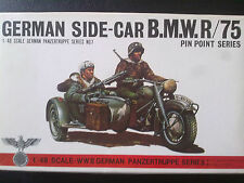 BANDAI 8227 German Side-Car BMW R/75 with 3 soldiers / Kombiversand möglich