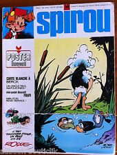 C) SPIROU n°1801 sans le poster/ Disney World