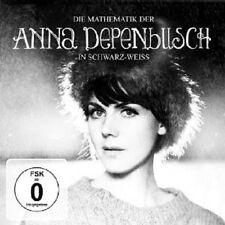 """ANNA DEPENBUSCH""""DIE MATHEMATIK..SCHWARZ/WEIß""""CD+DVD NEU"""