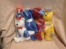 Limited Treasures - Test Set of Four Bears - new in original package