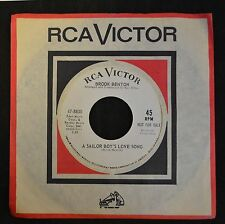 Brook Benton RCA DJ 8830 A Sailor Boy's Love Song and Too Much Good Lovin'